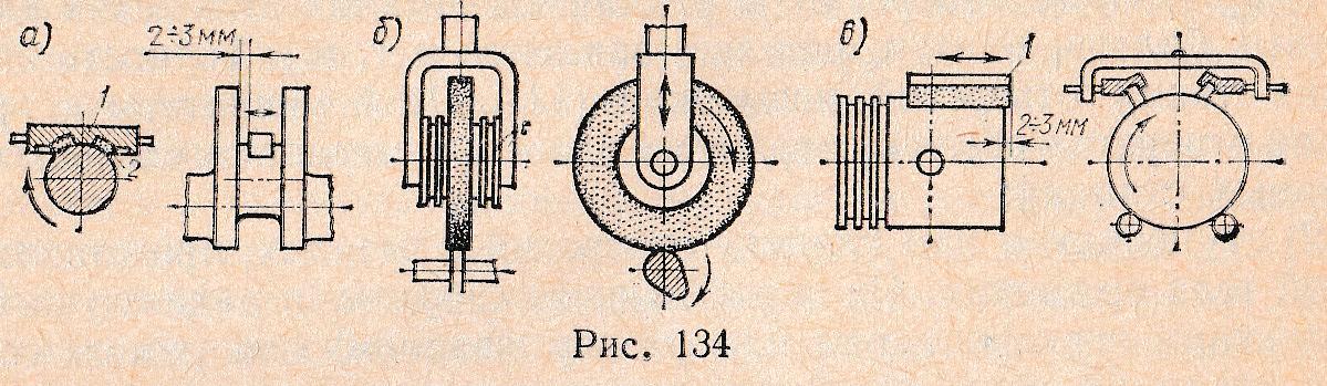 134, α показана схема тонкой