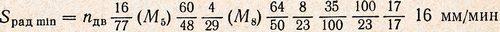 уравнение кинематической цепи